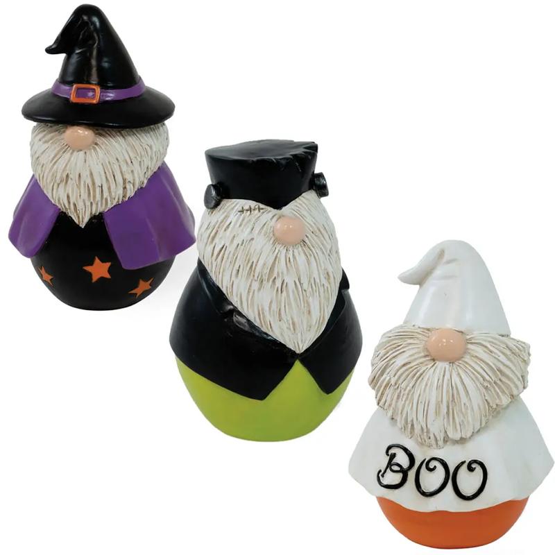 Boston International Halloween Mini Gnome Set