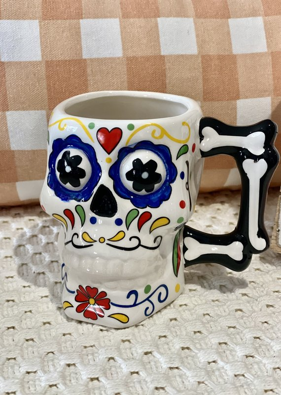 Boston International Day of the Dead Skull Mug