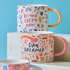 Magenta Magenta Bright Coffee Mugs