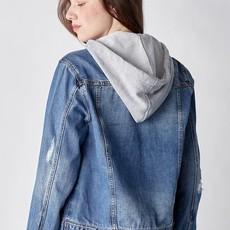 Risen Denim Risen Relaxed Hooded Denim Jacket (S-3XL)
