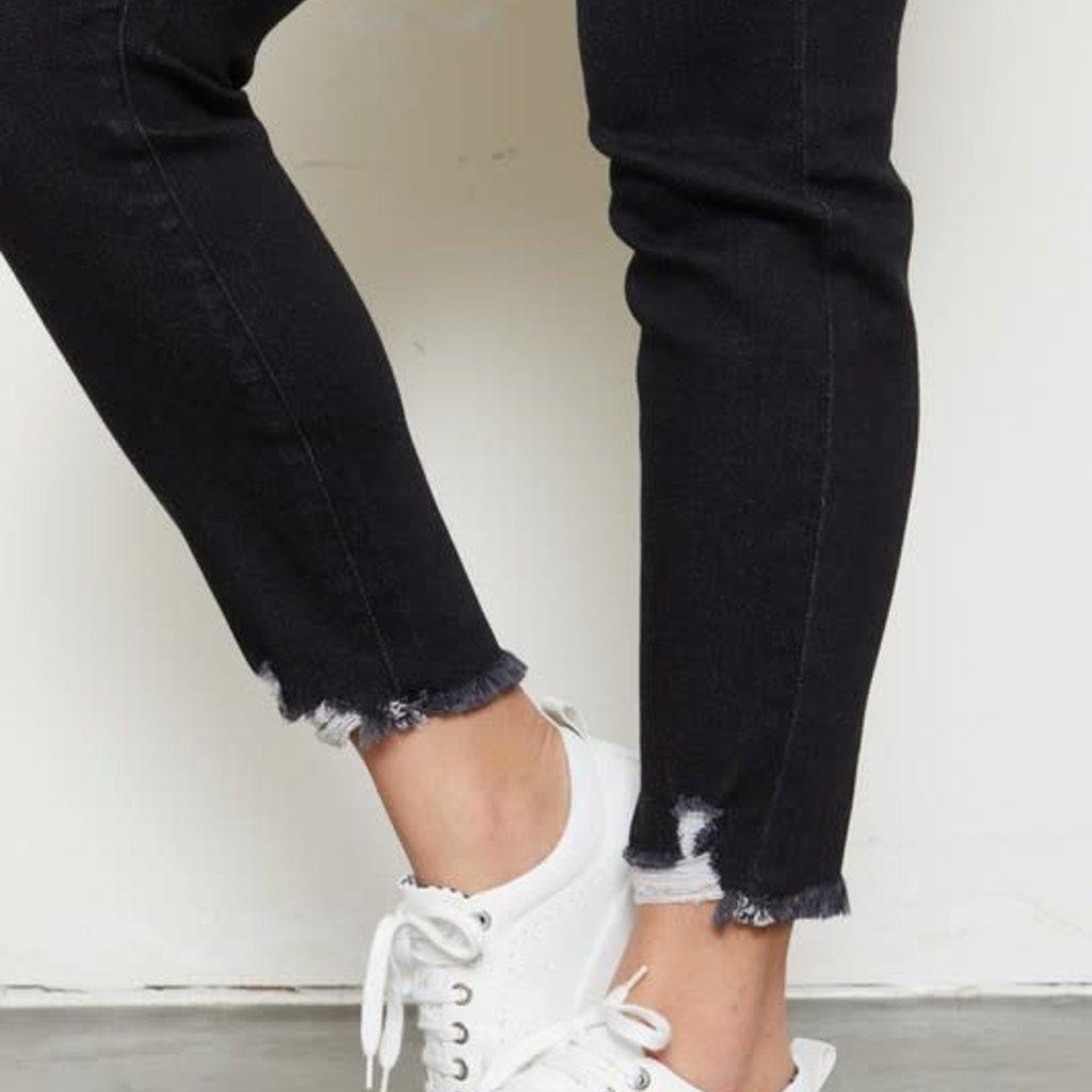 KanCan KanCan Black High Rise Ankle Skinny (5/26-3XL)