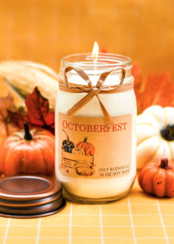 Oily Blends Oily Blends Fall Candle Collection