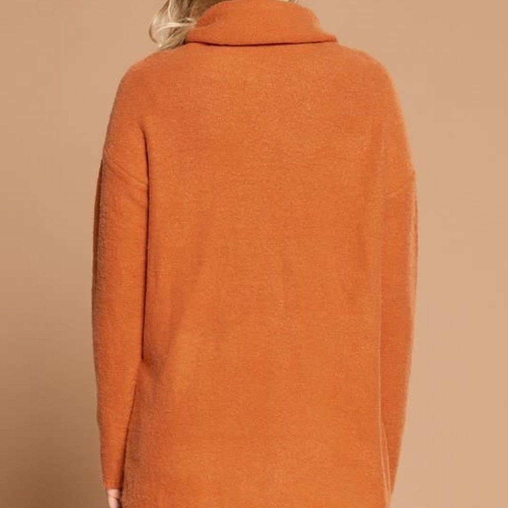 Oddi Harvest Dark Orange Knit Sweater (S-3XL)