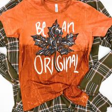 Bella Canvas Be An Original Orange Tee (S-3XL)