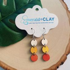 Emerald + Clay E+C Halloween Circle Earrings