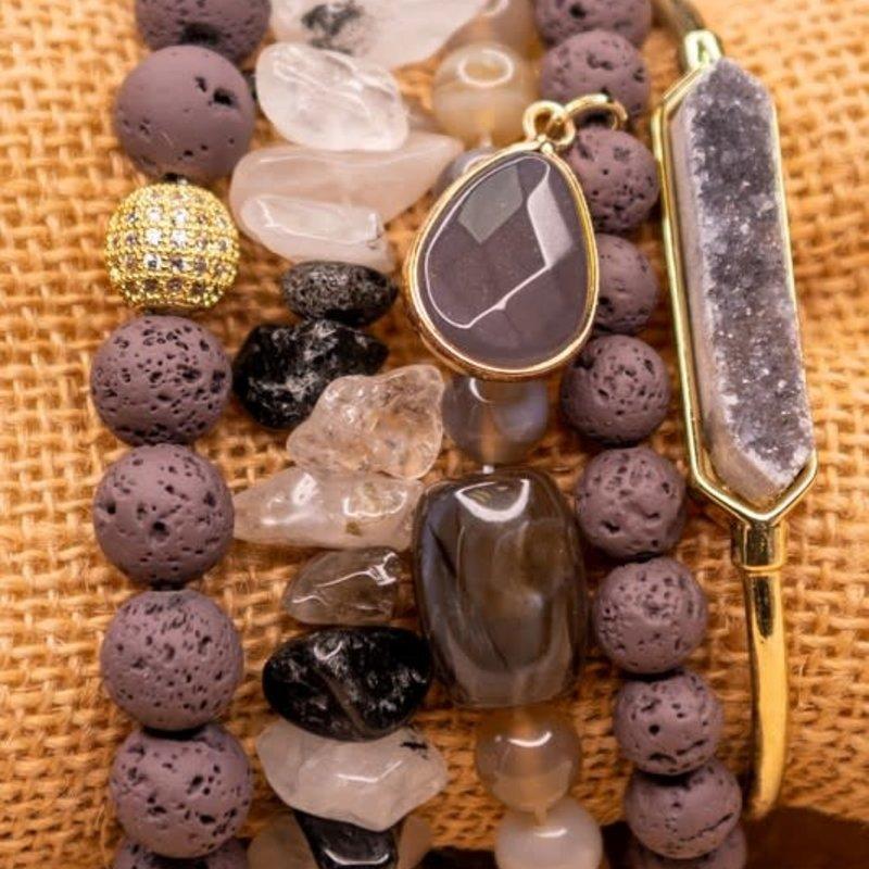 Dylan Jewelry Smokey Hue Shadow Bracelet Set