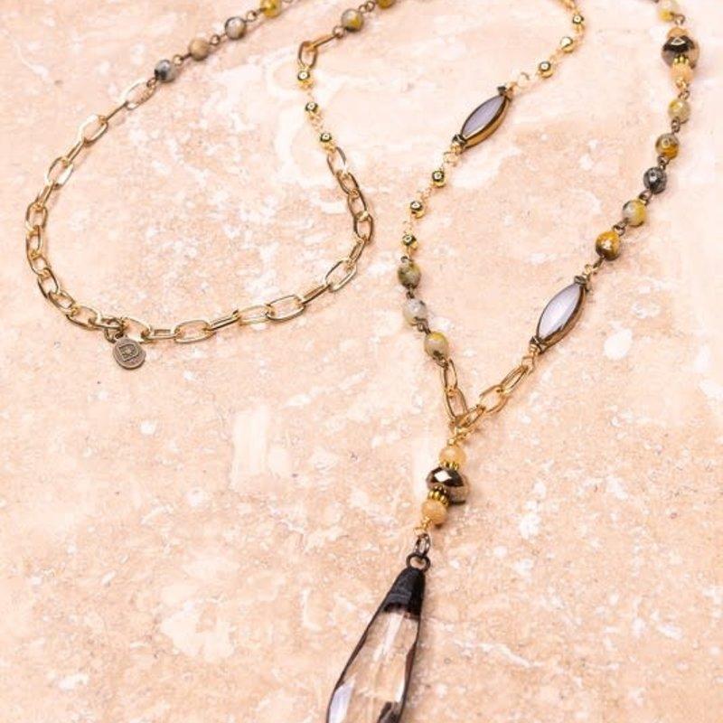Dylan Jewelry Loretta Stone Long Necklace