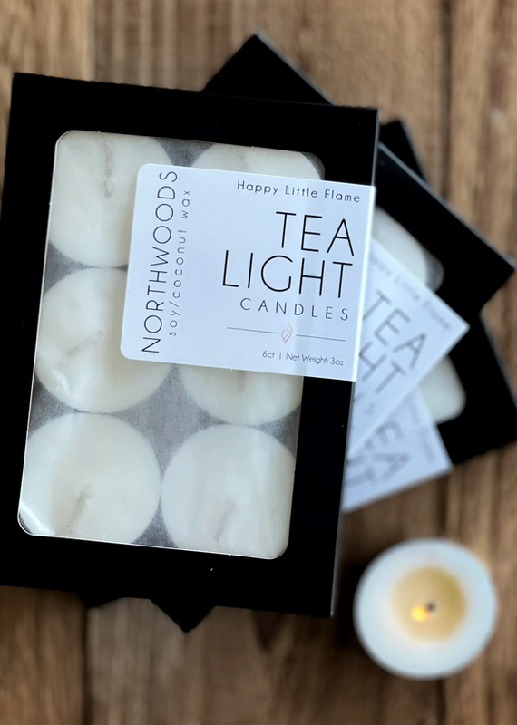 Happy Little Flame Happy Little Flame Scented Tealights (6 Pack)