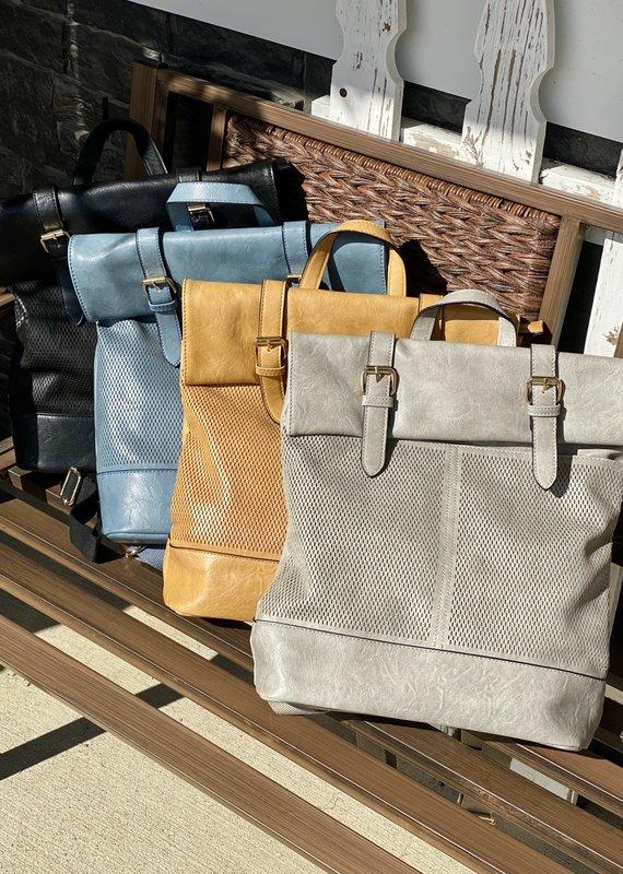 Bag Boutique Modern Satchel Backpack Bag (4 Colors)