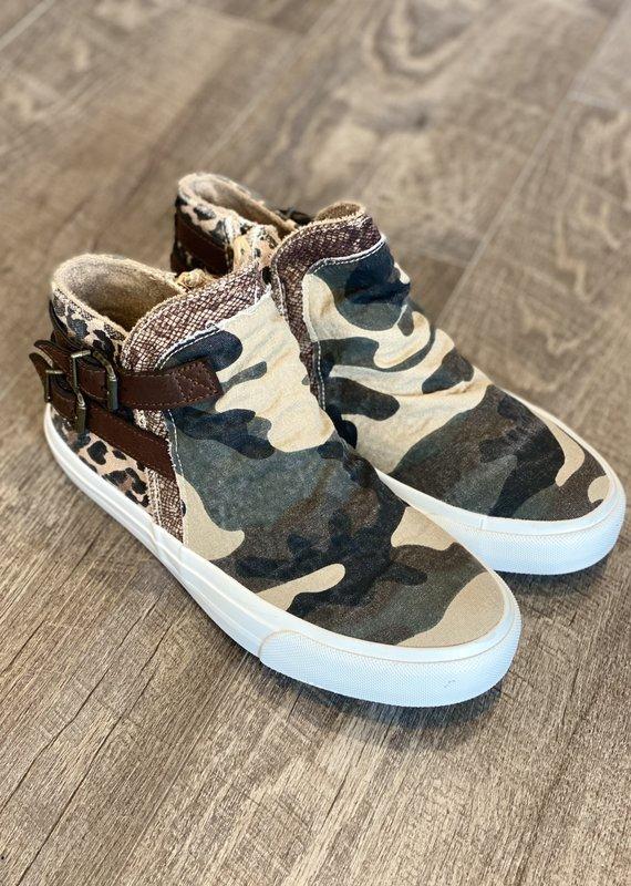 Blowfish Blowfish Makome Camo Leopard Shoes (6-11)