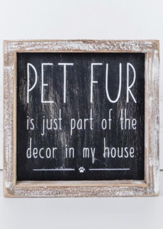 Adams & Co Pet Fur Sign
