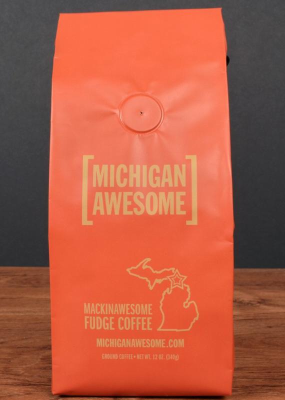 Michigan Awesome Mackinawesome Fudge Coffee