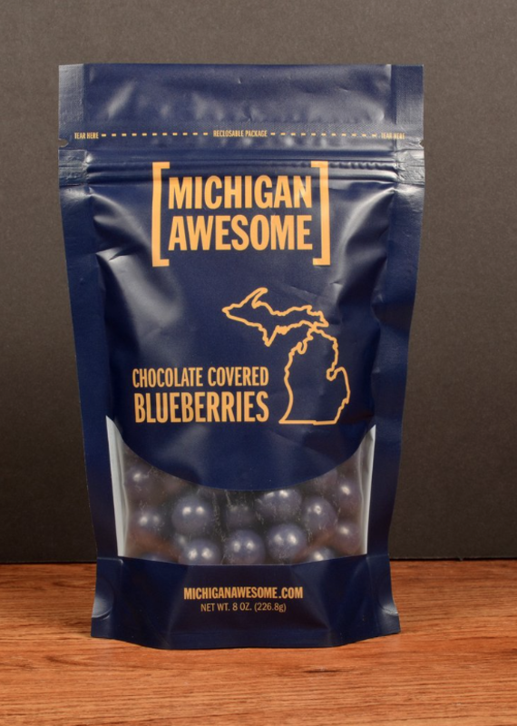 Michigan Awesome Michigan Chocolate Covered Blueberries