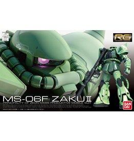 Bandai #4 MS-06 Zaku II RG
