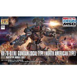 Bandai RX-78-01[N] Gundam Local Type (North American Type)