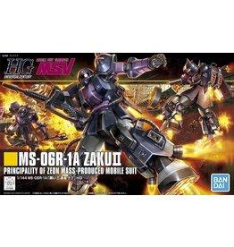 Bandai #151 MS-06R-1A Zaku II (Black Tri-Stars)
