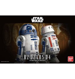 Bandai R2-D2 & R5-D4