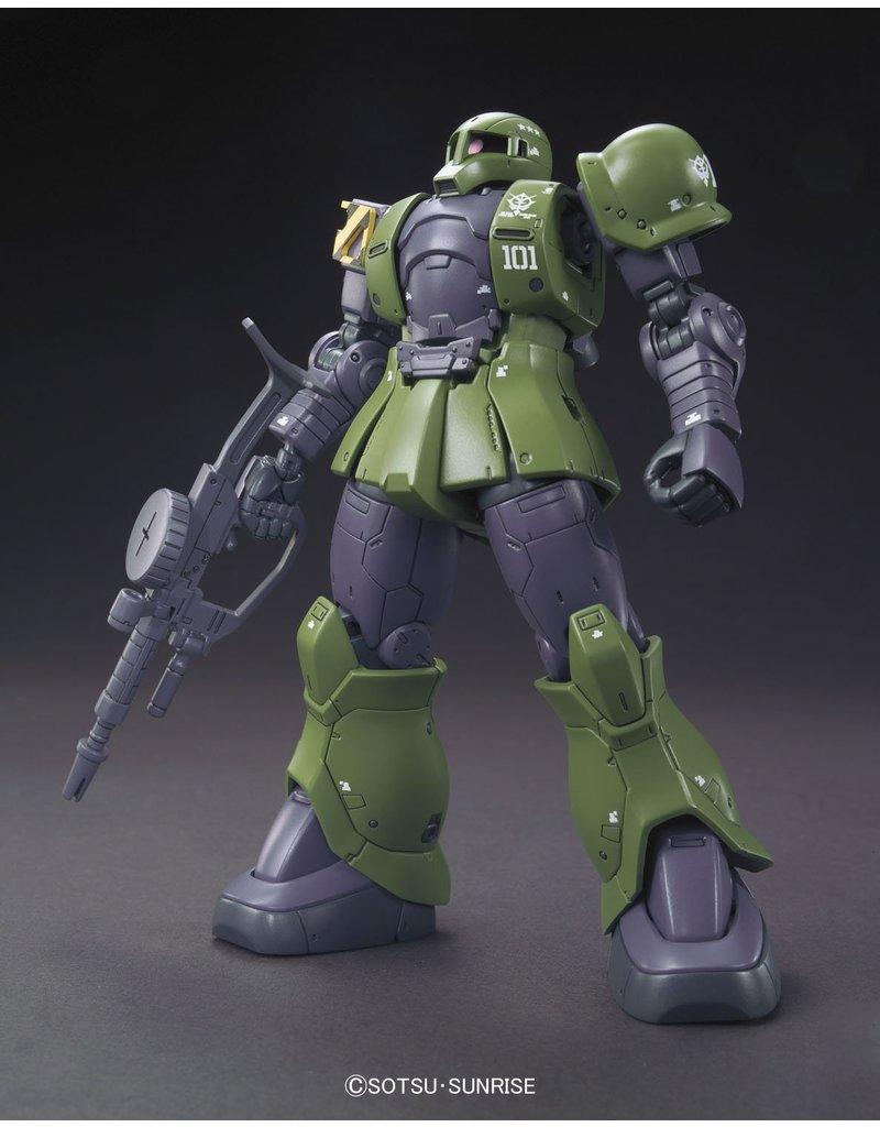 Bandai #09 MS-05 Zaku I [Denim/Slender Unit]