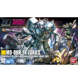 Bandai #154 MS-06R-1A Zaku II Shin Matsunaga