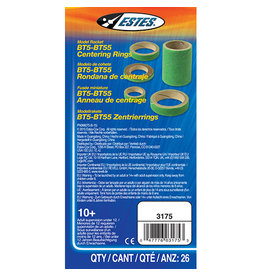 Estes BT5-BT55 Centering Rings - 3175