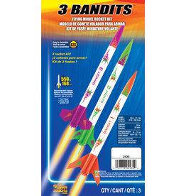 Estes 3 Bandits - 2435