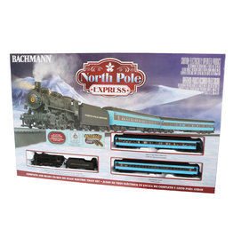 Bachmann North Pole Express HO Scale Train Set