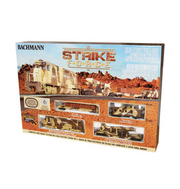 Bachmann Strike Force HO Scale Train Set