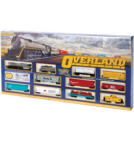Bachmann Overland Limited HO Scale Train Set