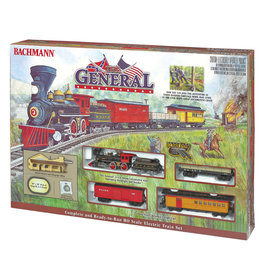 Bachmann The General HO Scale Train Set