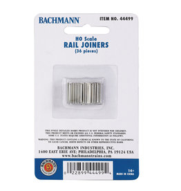 Bachmann EZ Track Rail Joiners HO Scale