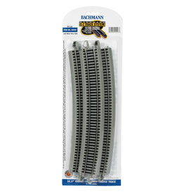 "Bachmann 35.50"" Radius 18 Degree Curved HO Scale EZ Track"