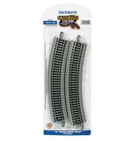 "Bachmann 18"" Radius Curved HO Scale EZ Track"