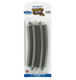 "Bachmann 26"" Radius Curved HO Scale EZ Track"