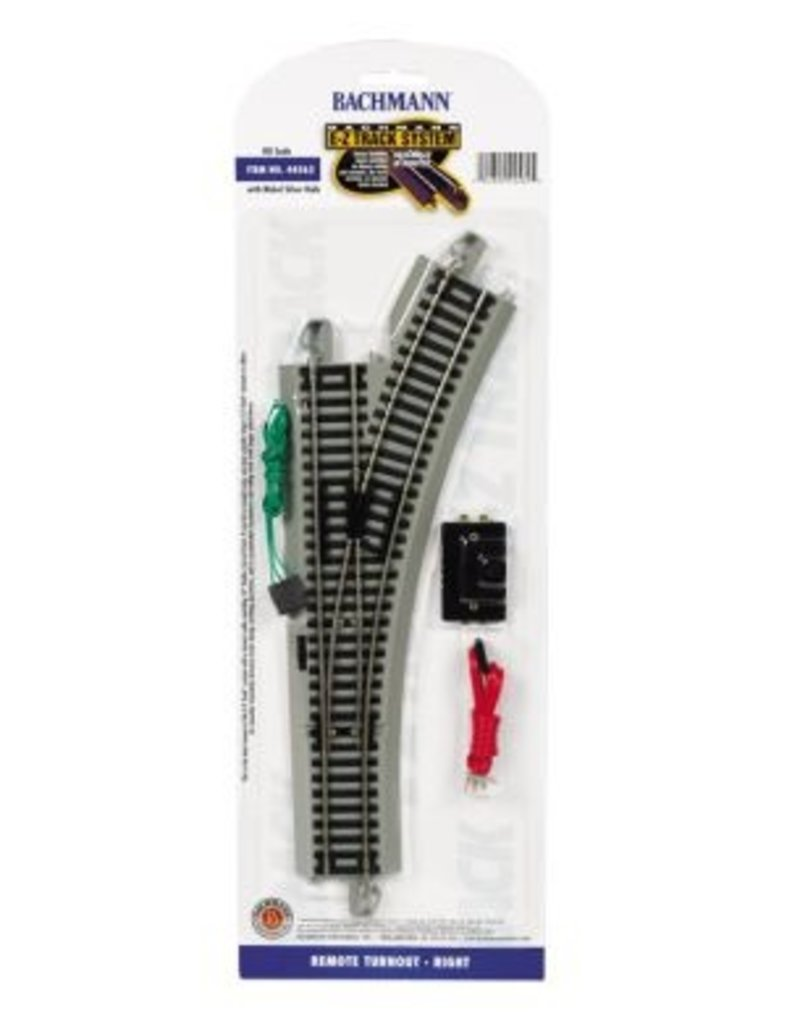 Bachmann Remote Turnout Right HO Scale EZ Track