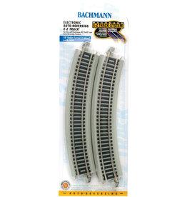 "Bachmann 18"" Radius Reversing HO Scale EZ Track"