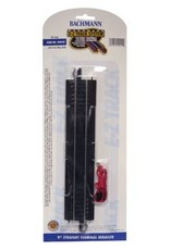 "Bachmann 9"" Straight Terminal Rerailer with Wire HO Scale EZ Track"