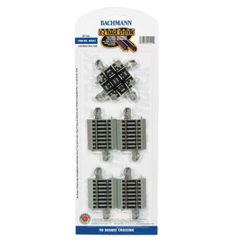 Bachmann 90 Degree Crossing HO Scale EZ Track