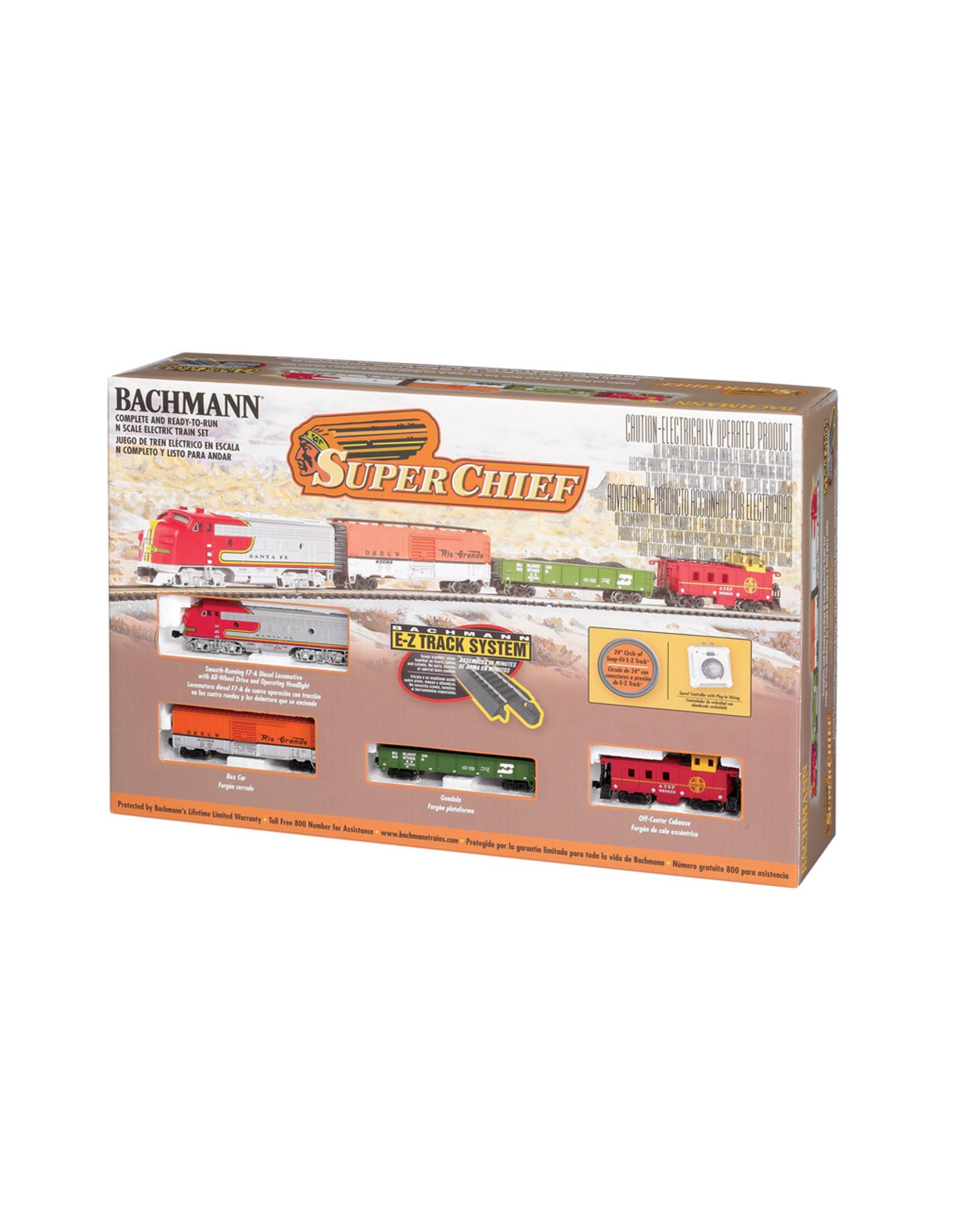Bachmann Super Chief N Scale Train Set