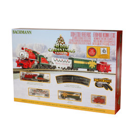 Bachmann Merry Christmas Express N Scale Train Set