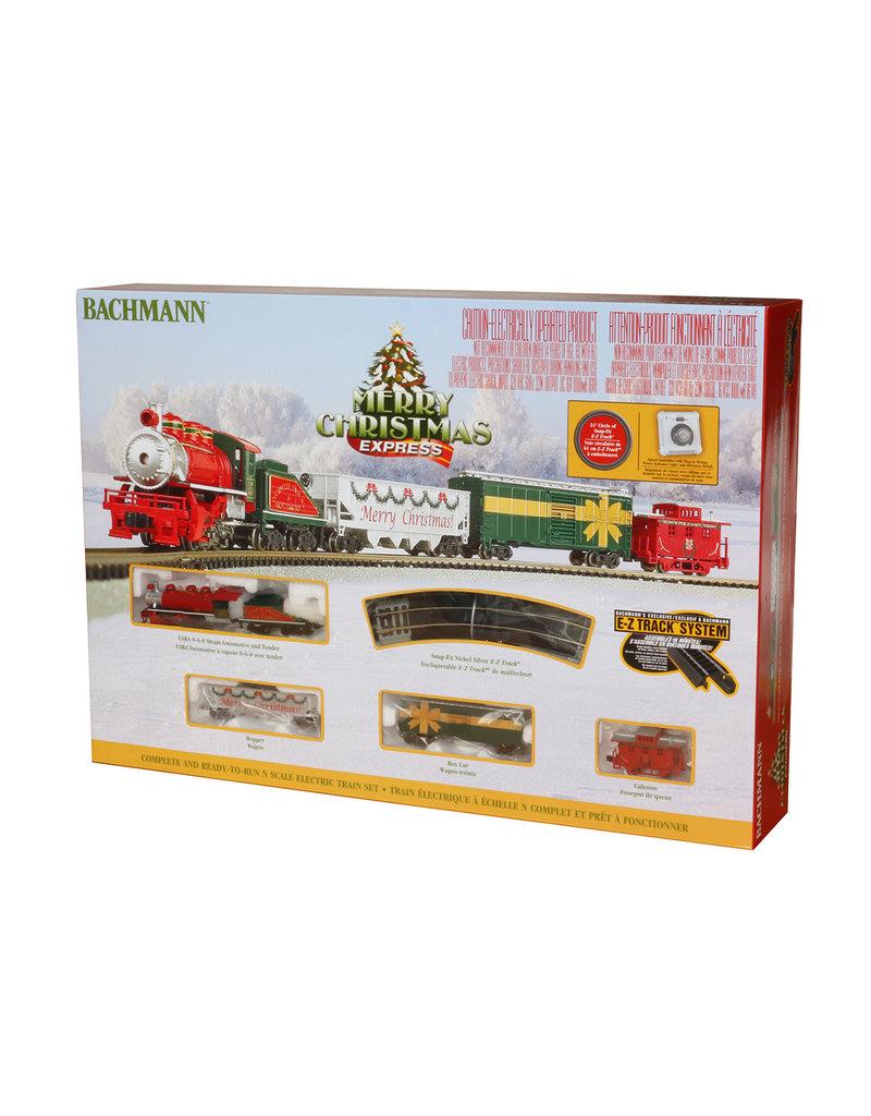 Bachmann Merry Christmas Express N Scale Train Set