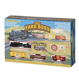 Bachmann Yard Boss N Scale Train Set