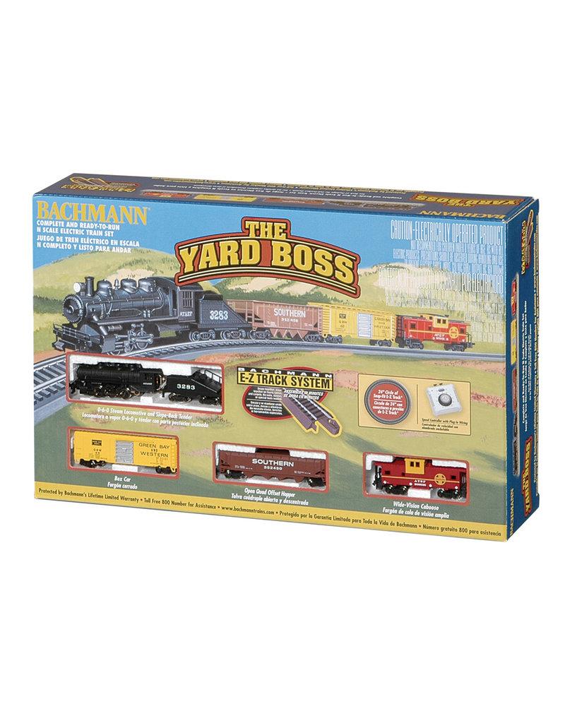 Bachmann Yard Boss N Scale Train Set
