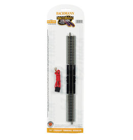"""Bachmann 44820 - 10"""" Straight Terminal Rerailer with Wire - N Scale EZ Track"""