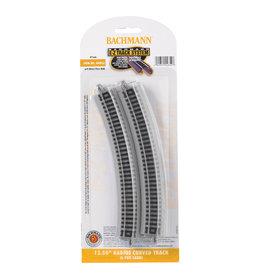 "Bachmann 44852 - 12.50"" Radius Curved Track - N Scale EZ Track"