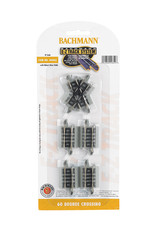 Bachmann 60 Degree Crossing N Scale EZ Track