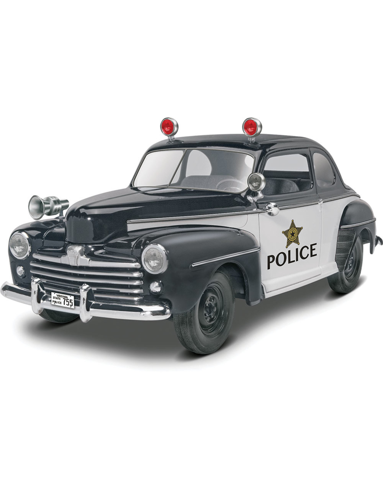Revell 4318 - '48 Ford Police Coupe 2n1 1/25