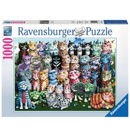 Ravensburger Cat Family Reunion - 1000 Piece Puzzle