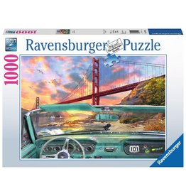 Ravensburger Golden Gate - 1000 Piece Puzzle