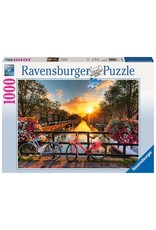 Ravensburger Bicycles in Amsterdam - 1000 Piece Puzzle