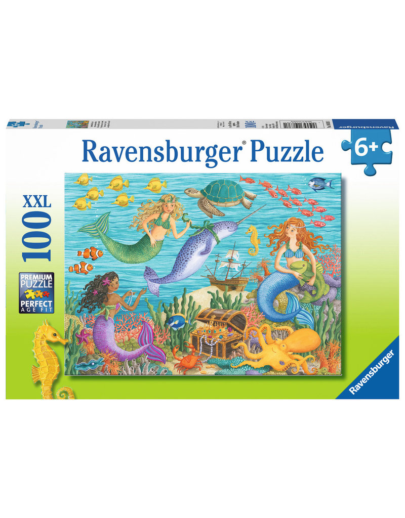 Ravensburger Narwhal's Friends - 100 Piece XXL Puzzle